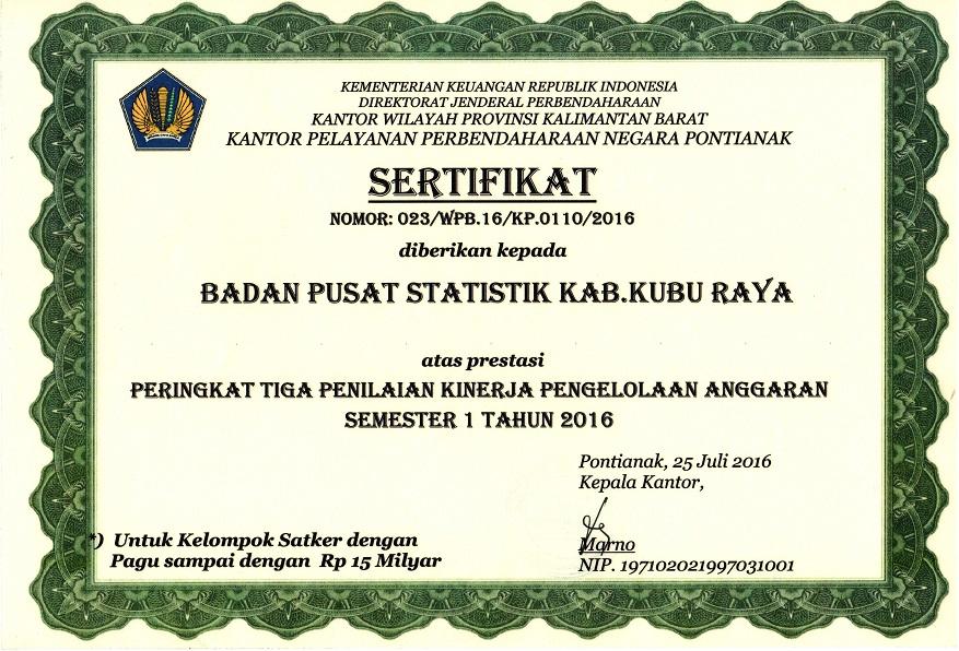 sertifikat 2016